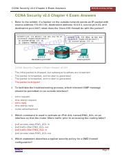 CCNA-Security-v2.0-Chapter-4-Exam-Answers