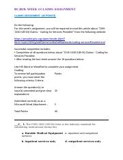 BC2020 WK 4 CLAIMS ASSIGNMENT_REPLACEMENT ASSIGNMENT.doc