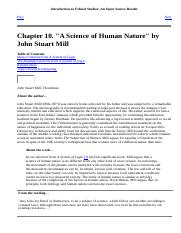 A Science of Human Nature by John StuartMill.html