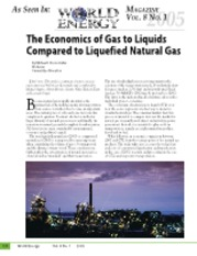 Economics of GTL and LNG