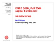 enee359a-manufacturing