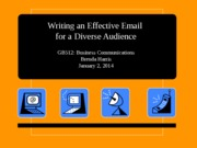 Writing an Effective Email (GB512)