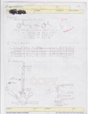 Organic chemistry homework