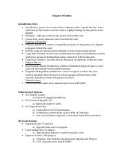Chapter 3 Outline-LAW230