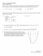 MAT 151 - Practice Midterm Exam with Solutions - 162.pdf