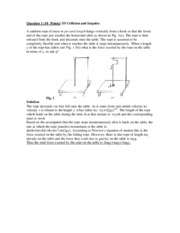 Physics 7A - Fall 2003 - Yu - Final - Solutions
