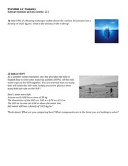 Worksheet_2.2-Buoyancy