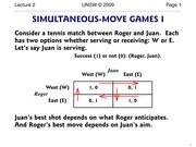 02_Simultaneous Games
