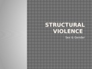 Structural Violence Women