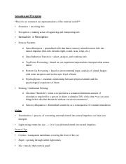 PSY 106 Study Guide 2