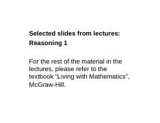 Selected slides-Reasoning1.pdf