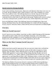Social Concerns Among Students Research Paper Starter - eNotes.pdf