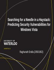 Security_Searching for a Needle in a Haystack_Raghunath_Endla_20501902