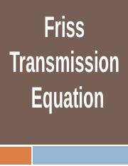 Friss Equation.pptx