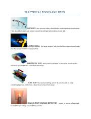 ELECTRICAL TOOLS AND USES.docx