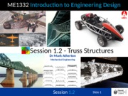 Session 1.2 - Truss Structures