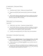 Business Law Unit 6 assignment