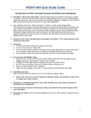MGMT-404 Quiz Study Guides (1)