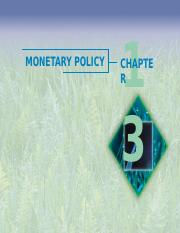 Ch13 MONETARY POLICY.ppt