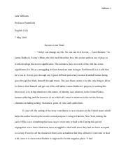Jada Williams Essay #3 !.docx