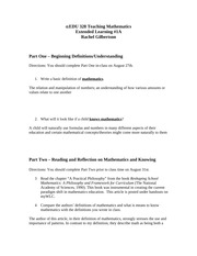 Extended Learning 1A - Graded