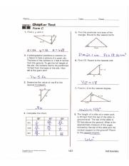 Ch. 8 & 9 FR KEY - Name Date 7 Class CHE'PTEH Chapter Test Form C ...
