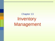 Lecture 9- Chapter 11