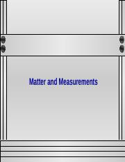 Matter and Measurements.ppt