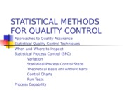 2. Satistical Process Control
