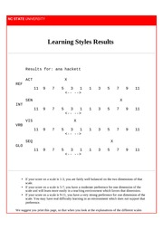 learning style e.c.