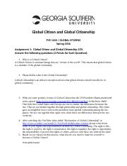 GlobalCitizens-Assignment