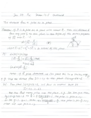 Lecture Notes on Quadratic Planes