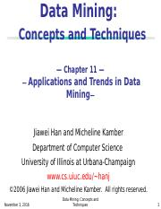 chapter11-Applications and Trends in Data Mining