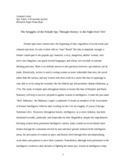 Spy Tales Research paper final