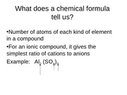 Naming COmpounds notes