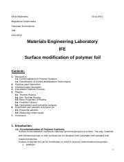 R3 - Surface modification of polymer foil.docx