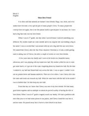 crucible essay block english the crucible and the seven deadly  2 pages man s best friend