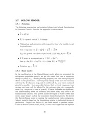 solow model notes A note on the closed-form solution of the solow model charlesijones january6,2000 this brief note presents the closed-form solution of the solow (1956.