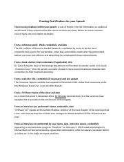 Creating Oral Citations for your Speech.docx