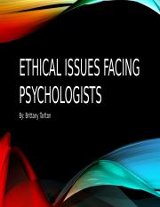 Ethical issues facing psychologists.pptx