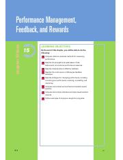 Chapter 15 Performance Management