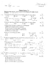 Chapter 8 Test Review Answer Key - Cha teraTest REVIEW ...