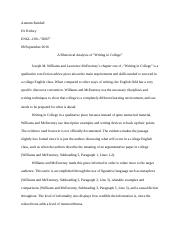 750 Word Rough Draft Rhetorical Analysis 1st