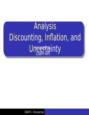 CBA Lecture 3 - Discounting and Inflation.pptx