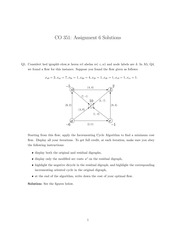 Network flow theory homework 6