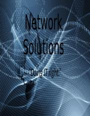 Network Solutions - Presentation (Final) (2)