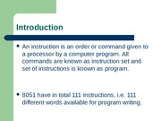 FALLSEM2015-16_CP3553_05-Aug-2015_RM01_MICROCONTROLLER-INSTRUCTION-SET