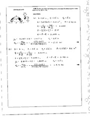 442_Mechanics Homework Mechanics of Materials Solution