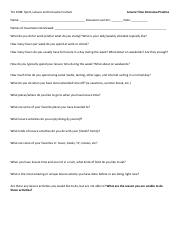 Leisure Time Interview Practice Script (2)