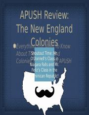 APUSH-Review-The-New-England-Colonies.pptx